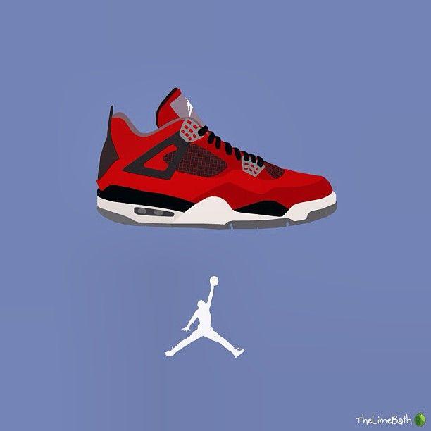 Nike Air Jordan IV 'Toro Bravo' by thelimebath #airjordan #jordans