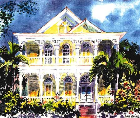 Key West Style Home Plans | From The Cottage Plan Series Key West Cottage House  Plans Part 47