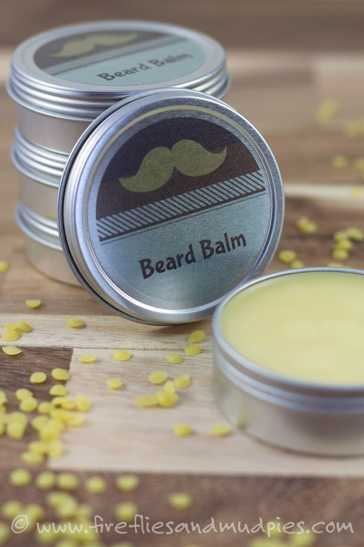 DIY Cedarwood Beard Balm -- I've been wanting to make a homemade beard oil. Maybe I will give this a try!