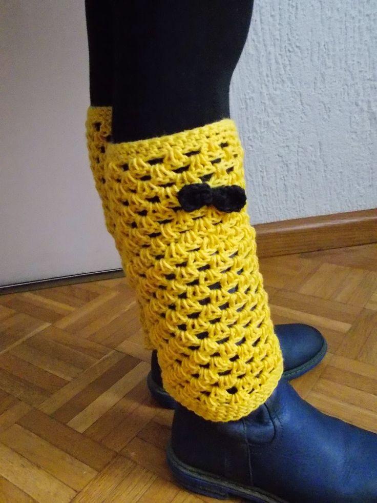 Beenwarmers (gratis patroon) / leg warmers (free pattern)