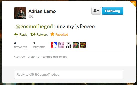 Adrian Lamo was the guy who snitched on Bradley Manning. Cosmo is a teenage hacker. #pwned