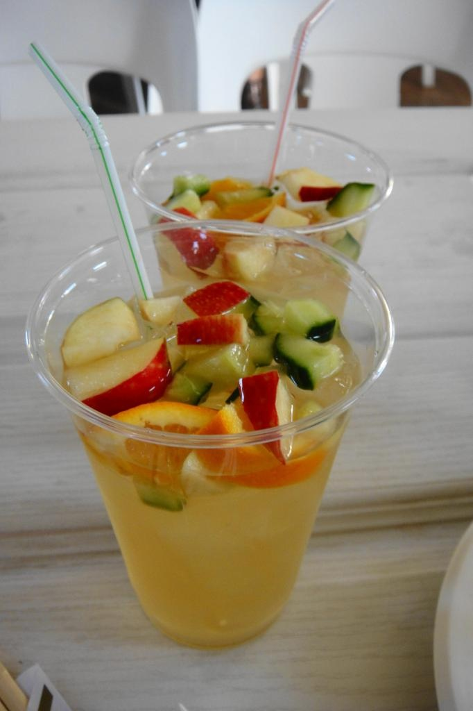 Pimms from The City Bowl Night Market- delicious! Juice for grown ups...