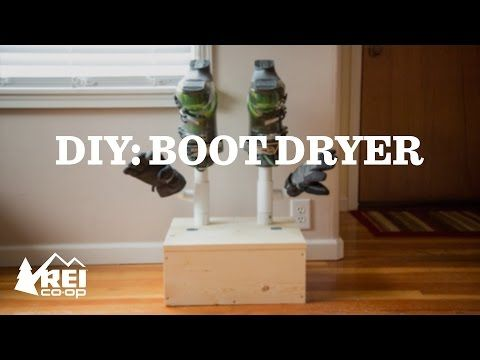 DIY: Build Your Own Snowboard and Ski Boot Dryer - REI Co-op Journal