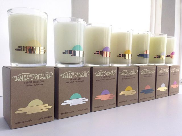 New Candle Packaging And Some New Scents