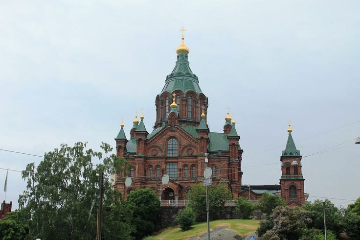 Fotografía: Cristina y Justo- catedral Ortodoxa. Helsinki