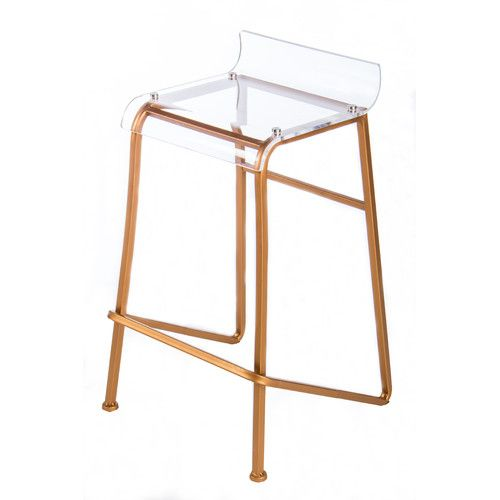 Found it at AllModern - Acrylic Counter Stool