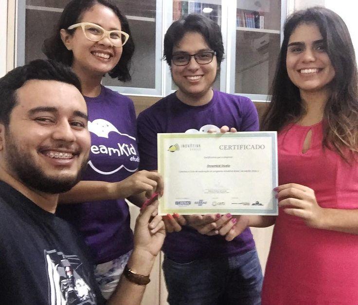 Certificado em mãos! Dreamkid startup finalista do Inovativa Brasil.  #dreamkidstudio #inovativabrasil #inovativa #startuplife #startup #education #startupwomen