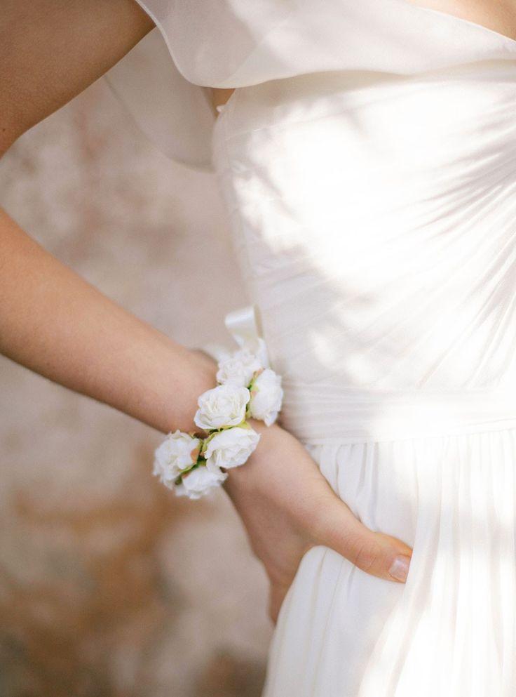 Bracelet fleurs ivoire Rosie - English Garden
