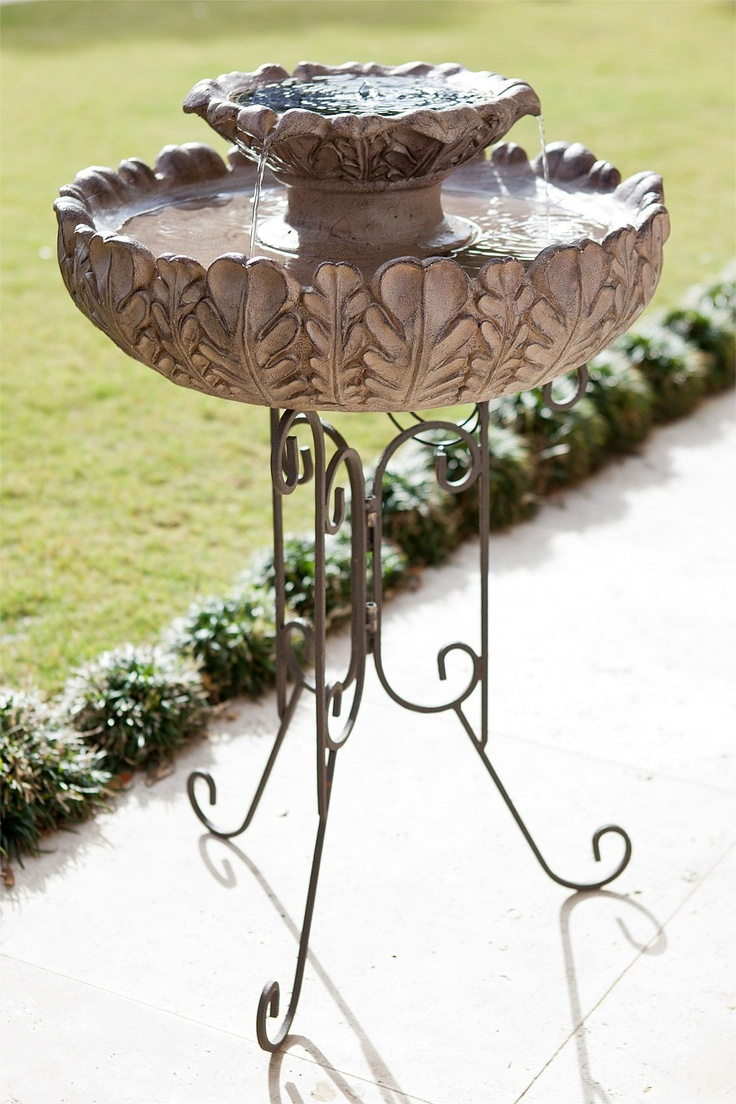 Water fountains outdoor new zealand - Ezibuy Outdoors Solar Tier Fountain Ezibuy New Zealand