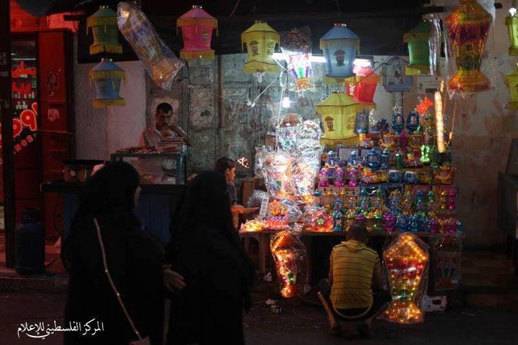 Street Vender In Palestine Painting Art Ramadan