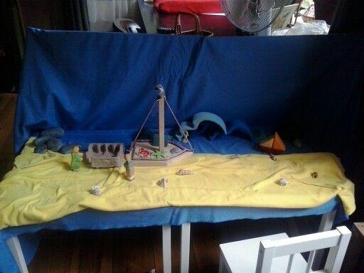 Het bootje, uit een boekje van Hennie de Gans