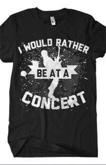 I Would Rather T-Shirt - Bryan Stars T-Shirts - Online Store on District Lines