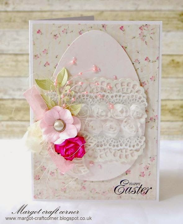 From our Design Team! Card by Małgorzata Dudzińska featuring these Dies - Large Lacy Border , Small Lacy Border , Open Leaf Flourish, Berry Flourish :-) Shop for our products here - shop.lalalandcrafts.com More Design Team inspiration here - http://lalalandcrafts.blogspot.ie/2015/04/inspiration-wednesday-spring-or-easter.html