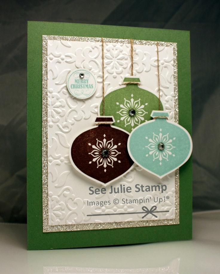 Friday Mashup 81. Stampin' Up! Delightful Decorations, See Julie Stamp - Julie Wadlinger