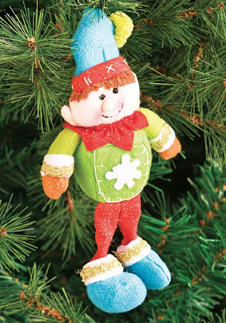 Adorno colgante Elf #Navidad #Deco #Home #Easy