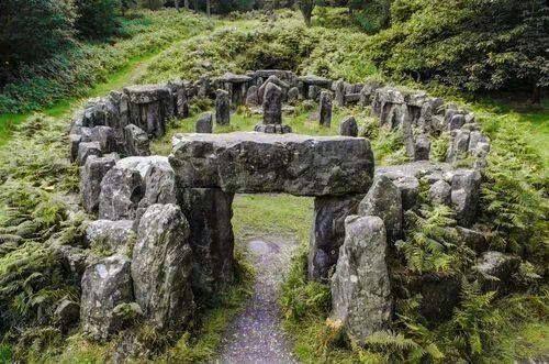 Druids Temple - North Yorkshire-via-https://www.facebook.com