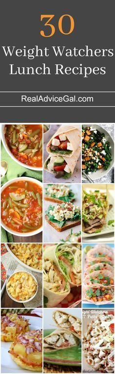 30 easy to make and tasty Weight Watchers Lunch Recipes