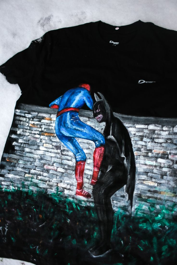 #tshirt #spiderman #batman