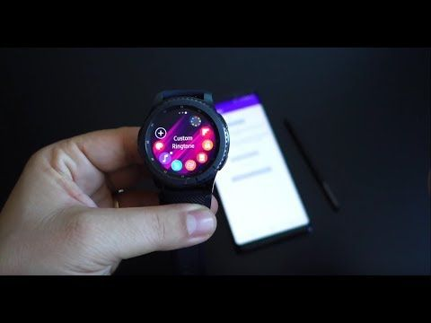 Samsung Gear S3: how to set any mp3 as custom ringtone on smartwatch - Andrasi.ro