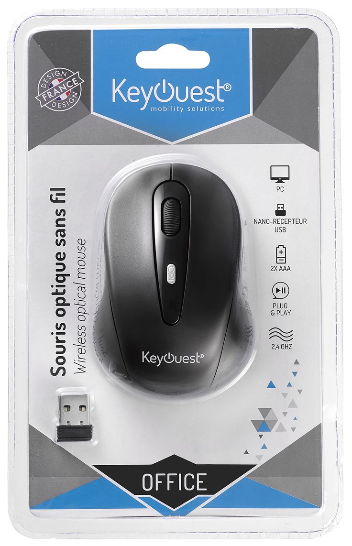 Packaging souris sans fil OFFICE - KeyOuest http://www.keyouest-mobility.com/produits/souris-office-sans-fil-keyouest/