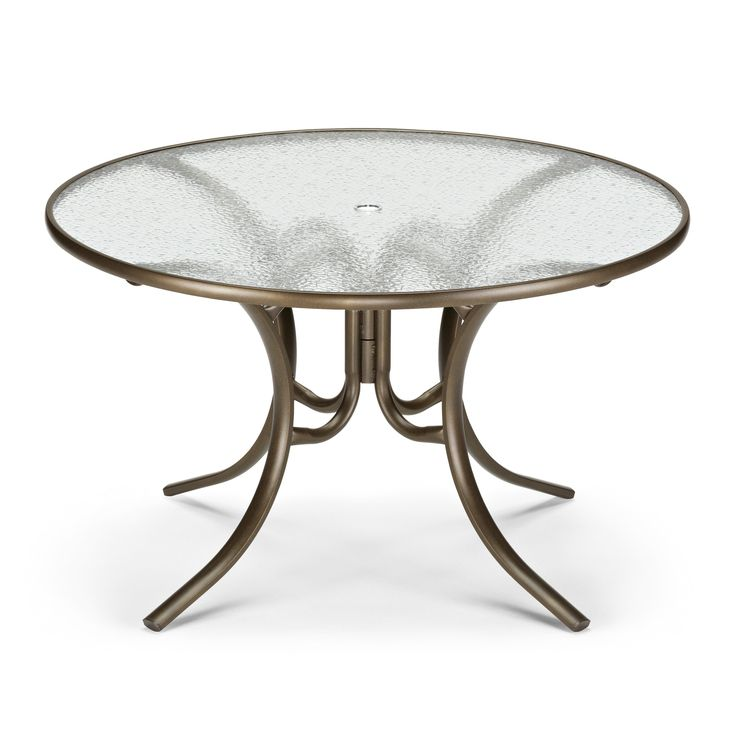 Round Glass Table Top 48