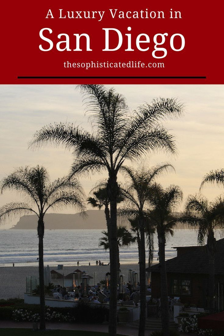 If you are visiting San Diego California be sure to plan a stay at the luxurious oceanfront resort-Hotel Del Coronado!