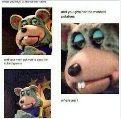 Lmfao | Chuck E Cheese's Meme | Bruh why you look like that | Stoned