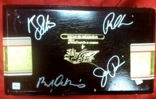 Cigar Box Autographed by The Cast of Goodfellas $879