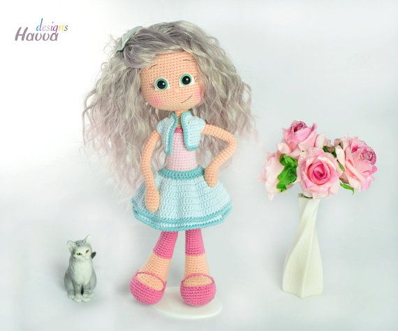PATTERN Emily Doll by HavvaDesigns on Etsy