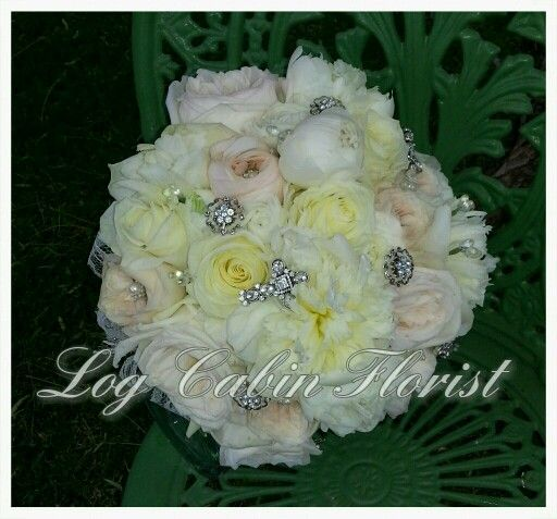 14 best table decor for weddings and more images on for Log cabin florist bakersfield