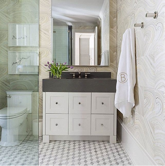 Hall Bathroom Tiles: 49 Best Images About Bath Tile Ideas On Pinterest