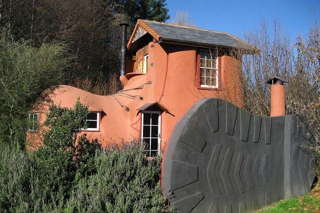 Almost unbelievable (though we promise you it's legit), this New Zealand home is built in the shape of a boot, complete with a giant sole and laces. But, you don't have to be an old woman to live in this shoe — the unique B&B is a prime romantic hideaway for couples, with a bedroom upstairs, a comfy couch and open fireplace downstairs, and two sun loungers outside overlooking the hazelnut tree grove.   $233/nightRelated: Go Cheap! A State-by-State Guide to Rentals Less Than a $100