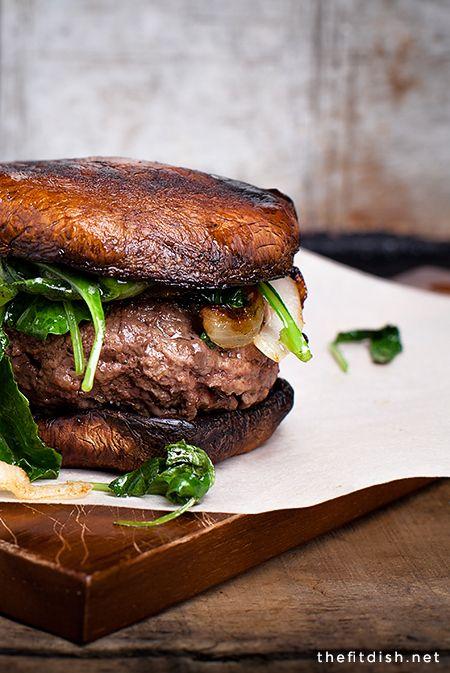 Portobello Mushroom Burger #WOWfoodanddrink