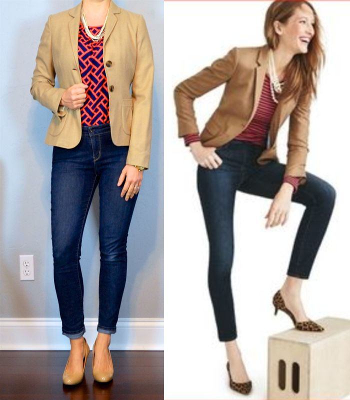outfit post: camel blazer, herringbone print blouse, skinny jeans http://outfitposts.com/2016/11/outfit-post-camel-blazer-herringbone-print-blouse-skinny-jeans.html?utm_campaign=coschedule&utm_source=pinterest&utm_medium=Outfit%20Posts&utm_content=outfit%20post%3A%20camel%20blazer%2C%20herringbone%20print%20blouse%2C%20skinny%20jeans