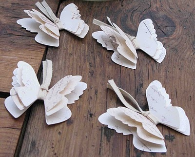 ~ I <3 these paper butterflies