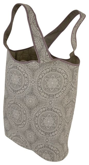 Raymond Waites Oversized Quilted Laundry Tote with Handle beach-style-laundry-products
