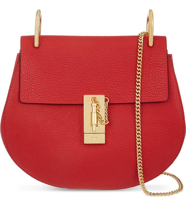 CHLOE - Drew small leather cross-body bag   Selfridges.com