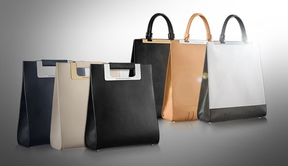Building upon the successful launch of our #TwinBag, Porsche Design is adding two new bag versions: the #HollyBag and the #MetricBag. Here's a sneak peak...