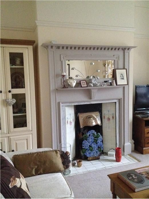 Farrow and Ball Elephants Breath Fireplace surround
