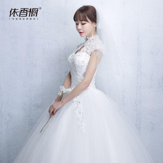 신부 드레스 웨딩 새로운 2017 여름 새로운 도착 슬림 공주 꿈의 결혼식 투투 치 시아
