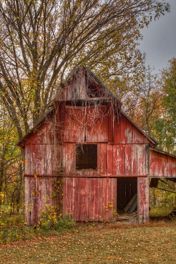 Faded Red Barn                                                                                                                                                      More