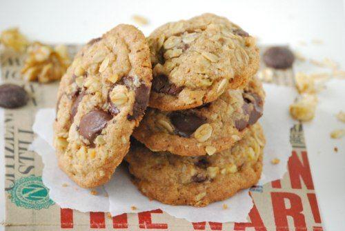 receta de galletas de avena y pasas