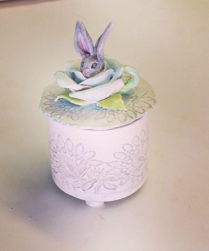 Ceramic trinket made by Eleanor Gillitt