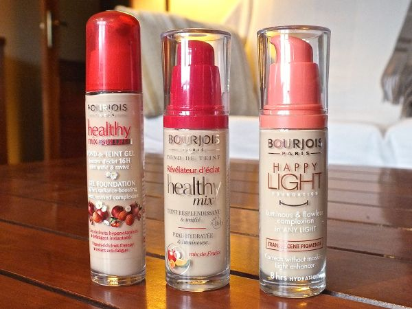 Post in my blog- Bourjois foundations: which one to choose?
