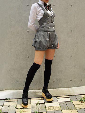 Layer Skirt Miho Matsuda is my spirit animal