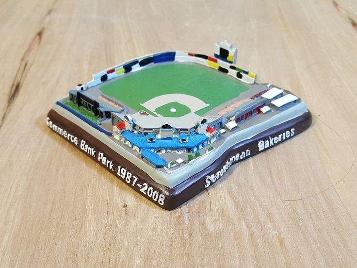 MODEL REPLICA of HARRISBURG PENNSYLVANIA BASEBALL FIELD ~ Commerce Bank Park #AlexanderGlobalPromotions #HarrisburgSenators #washingtonnationals #minor #league #baseball #ballpark #stadium #field #model #replica #Harrisburg #pennsylvania