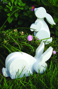 Layered Garden Bunnies - Scroll Saw Woodworking & Crafts