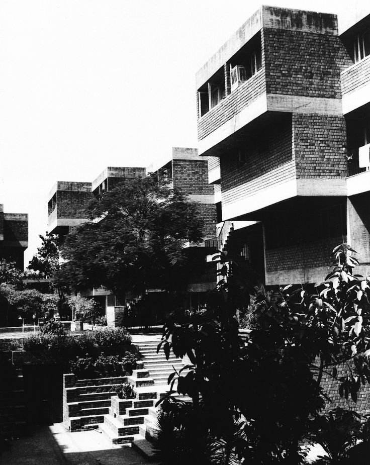 Tara Group Housing, New Delhi, India, 1978 (Charles Correa & Associates)