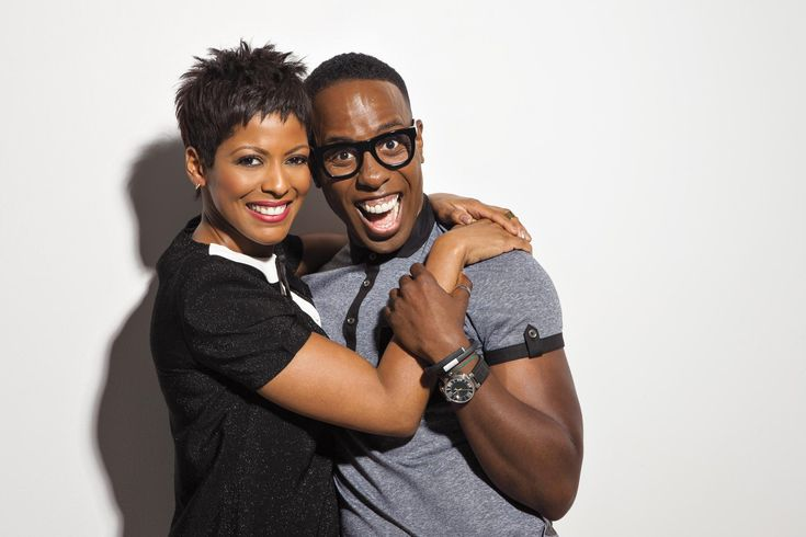 A Hair Affair: Johnny Wright and Tamron Hall After 18 years and many hair-styles, Johnny Wright and NBC News anchor Tamron Hall have developed a bond that helped Wright launch his career, and led to Hall's signature cut.