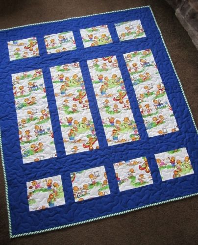 Charity Quilt - beary nice!